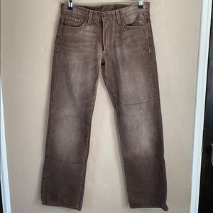 Lucky Brand - Vintage Straight Fit Brown Jean